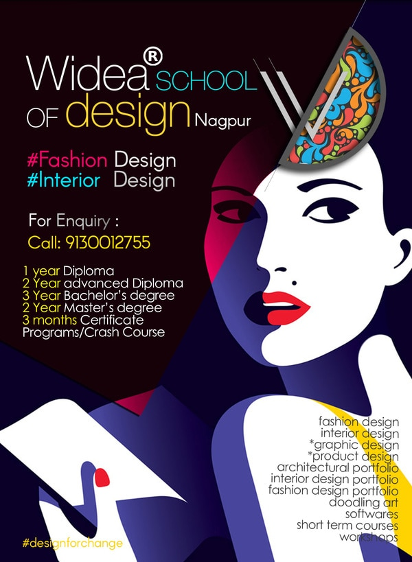 1 Year Diploma Fashion Design Widea School Of Design In Nagpur India