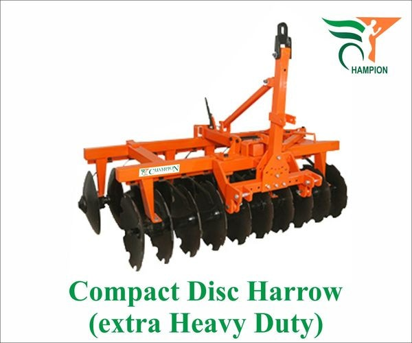 Mounted Offset Compact Disc Harrow