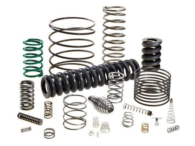 Compression Springs  Our expertise allows us to deliver our clients a quality range of Compression Springs which is extensively used to resist compressive forces. These find applications in manufacturing electronic components, electrical switches, mechanical & oil seals, automobile components, umbrella, hydraulic & pneumatic components. Compression springs function by shortening and increasing their diameters when a load is applied on them. As they work under high temperature ambiance, their body needs to be longer so that the heat does not affect their performance. Our offered product range is made according to this requirement. We also ensure that enough space is provided in between the coils to avoid any mechanical stop. Manufactured using advanced CNC spring machine, our offered range of compression springs is strong, ductile and corrosion resistant.  We are leading Manufacturer of Compression Springs in Gujarat,  India
