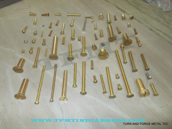 TFMT are leading manufacturer,suppler and exporter of Brass Knurling Bolts.We cater bulk quantity queries and offer our best competitive price with our best quality.