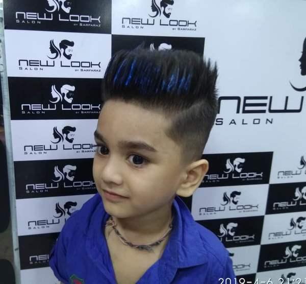 Boy Hair Cut And Style Newlook Salon By Sharfaraz In Mumbai