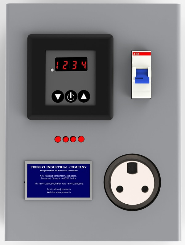 •Presevi's Intelligent Air conditioner control Panel IACP-XX- W Model is meant for use for every individual air conditioner to save energy and operational cost without sacrificing comfort. These controllers, provided with a facility to configure switching for a maximum of 25 ON/ OFF operations per day on Daily or Weekly basis (RTC based), has additional protections like gas leak detection and shutdown, fire, etc. It can be used for the Application of Home Air conditioners, ATM Centers, Computer server rooms, Telecom Cellular Sites, Cooling cabins, etc. For More details Download the Brochure INTELLIGENT AIR CONDITIONER CONTROL PANEL IACP-XX-W from the Brochure Column