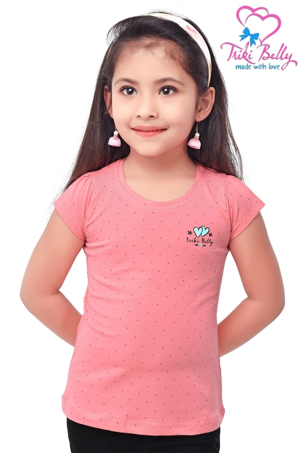 DOTED T-SHIRTS FOR GIRLS