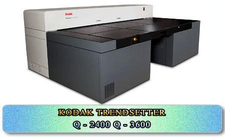 Kodak Trendsetter Q 2400 & Q3600 VVLF Thermal CtP