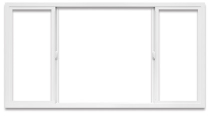 XOX Horizontal Slider l Windows has two sliding sashes that slide alongside a fixed sash in the middle of the two operating panels. Nail fin frames are ideal for new or replacement construction in a typical wood-frame structure. Nail fins can be easily removed for pocket or block frame installation into wood, concrete or masonry walls with little disruption to the interior and exterior trim.