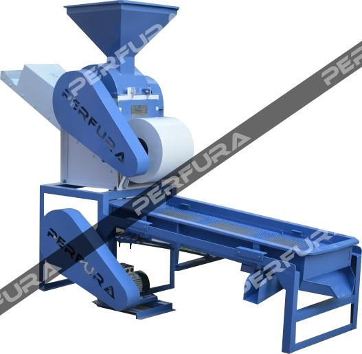 Groundnut Decorticator is used for removing the outer shells of Groundnut . The Grader is used for grading the nuts based on size