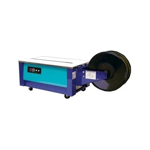 Strapping Speed1.5 sec/straps Usage/ApplicationBox Strapping PhaseSingle Phase Dimensions895*565*735 mm Power0.65 KW Weight90 kg Machine Weight90 Kg Strap Width Mm9-15 mm Tension Strength5-60 KG I Deal InNew Only  As a customer-focused organization, we are providing a wide array Box Strapping machine. In addition to this, we are providing these products at very leading prices.  Additional Information:  Item Code: AP7 Production Capacity: Available as per demand