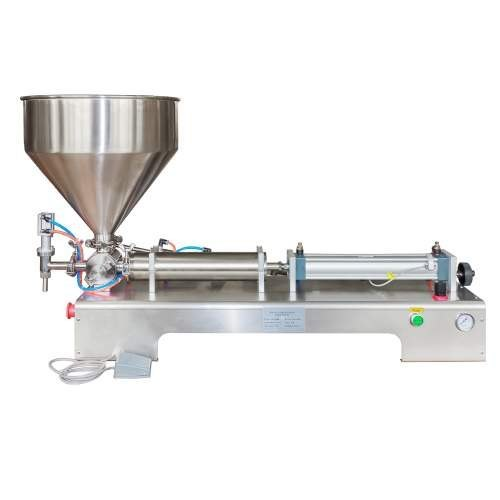Power Consumption	50 W Material	Stainless Steel Filling System	Fully Automatic Usage/Application	Industrial Machine Type	Automatic Air Pressure	0.4-0.6 MPa Voltage	200 V  Paste Filling Machine 100-1000 ml  Additional Information:  Production Capacity: As per order Delivery Time: within 7 days