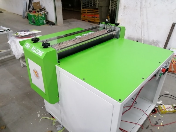 We PRO-FALCONS presenting a best machine for Hard case makers which helps them to get a uniqueness in their field. All the operations in this machine are executed by the operator seated in front of the machine. This machine contains Folding Unit alone.Once Gluing , Registering done by manually then the case is go to folding section for edge folding. All four edges of the case has been folded by the only two passes through the roller section. This process is perfectly done by the help of pressing rollers and brush roller. At this point work has all done and case will be delivered behind the folding section.Applications: (where it used)1. Diary Manufacturing Industry.2. Calendar Manufacturing Industry.3. Box File Making Industry.4. Table top calendar manufacturing industry.5. School Exam Pad manufacturing Industry.  Technical:Min. Case Size100mm x 160mmMax.Case Size450mm x 800mmPaper Thickupto 170gsmBoard ThickUpto 5mm