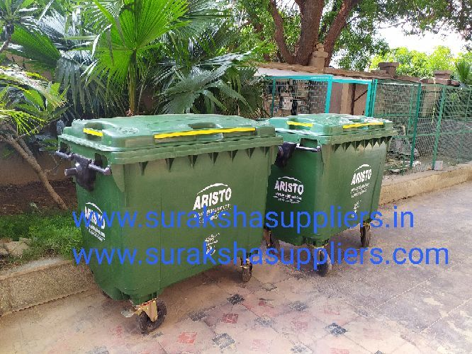 Waste Bins : which are widely used by Industries. Municipalities, Airports, Co-operative Housing Societies, Parks. Commercial and Residential Complexes, Hotels and Restaurants, Apartments, Resort. . Environmental Friendly, Long Lasting, Easy to use & maintain, Safeguards public health, Prevent diseases, Safe for workers,Used Area:Apartment/Office/CommercialComplex/College/Hospital/FactoryCampus/Resorts/Malls/Schools/FilmTheater/Parks/MemorialHalls/ConventionHalls/Government/CommercialComplex/Temples/Airport**All the dimensions, capacity and weight are approximate & only for reference.Subject to technical modification container according to EN standards.