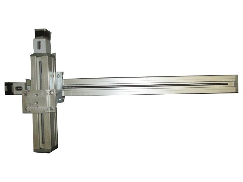 Ball Screw Driven Linear Motion Slide  * Aluminium shaft profile W 75 x H 75 mm, anodized  * Clamping surface and profile bottom side plan-milled  * 2 precision steel shafts Ø 12 h6, material Cf53, hardness 60 ± 2 HRC  * Aluminium slide blocks WS 5/70, 2 x WS 5/70 (70 mm long) or WS 5/200 (200 mm long), adjustable free of clearance, central lubrication  * Ball screw pitch 2.5/4/5/10/20 mm  * Profile sealing by abrasion-resistant sealing lips  * Aluminium die-cast end plates  * 2 limit and/or reference switches, repeatability ± 0.02 mm  * Driving steel collar with sealed angular contact ball bearings.  * Prepared either for flange- mounted direct drive modules or lateral belt drive modules  Additional Information: Pay Mode Terms: T/T (Bank Transfer)