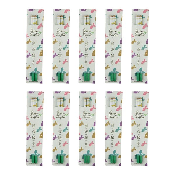 Birthday Return Gifts Pack for Girls Boys Seed Pencils with Plantable Paper Pack of 10