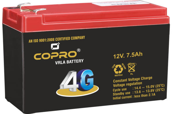 PeconPower Copro 4G 12V 7.5Ah with 6 Month Warranty