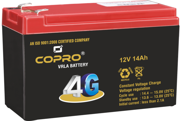 PeconPower Copro 4G 12V 14Ah with 6 Month Warranty