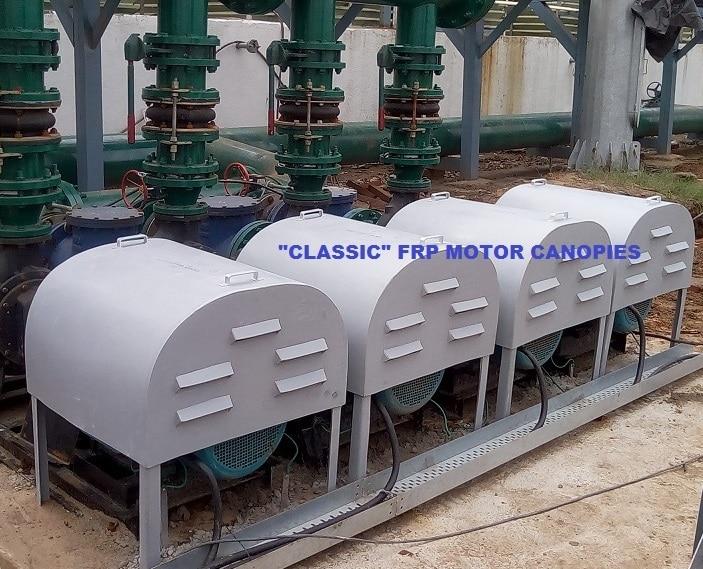 FRP Motor Canopies