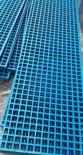 FRP Blue Grating Mesh