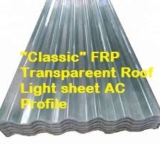 FRP Asbestos Corrugated Rooflight sheet