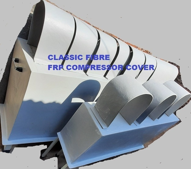 FRP Air Compressor Canopy